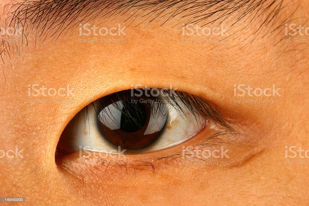 closeup of asian eye stock photo amp more pictures of asia