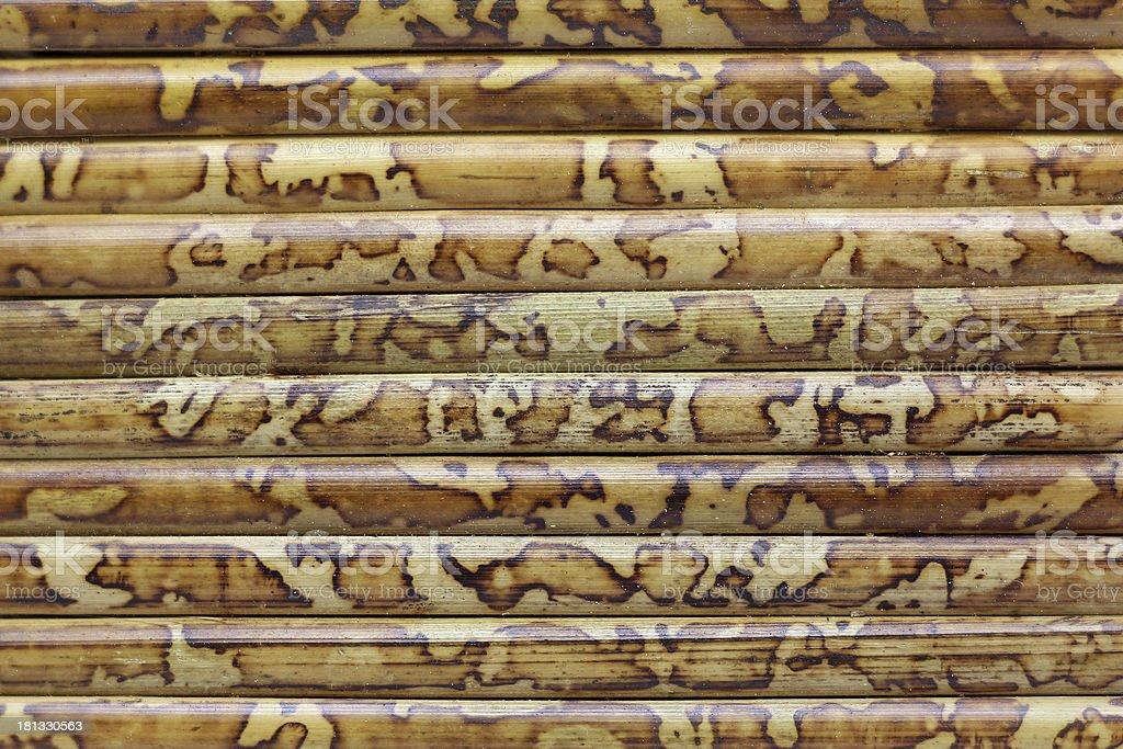 Closeup of bamboo royalty-free stock photo
