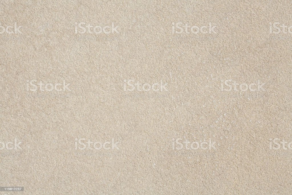 Close-up of beige sandstone with finely pebbled texture stock photo