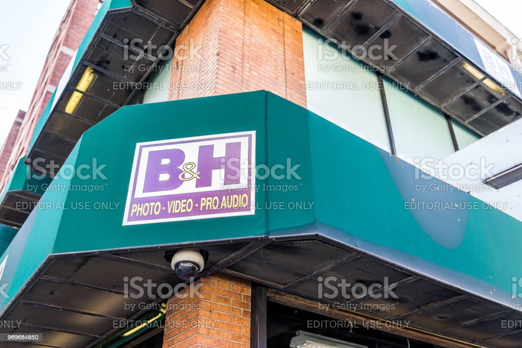 Closeup Of Bh Bh Photo Video Audio Equipment Famous Store