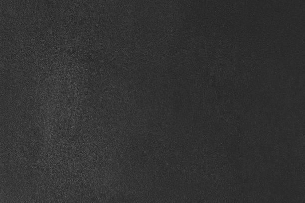 Primer plano de cuero con textura negro - foto de stock
