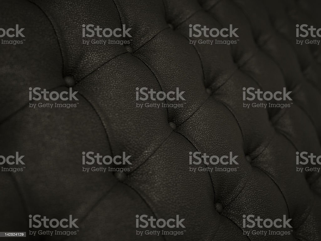 Close-up of black soft leather pattern royalty-free stock photo