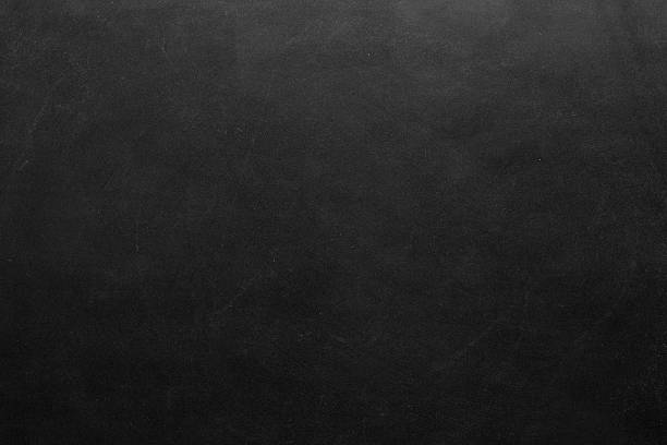 close-up of blank blackboard - chalk drawing stock photos and pictures