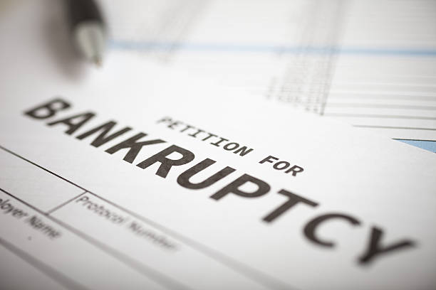 Bankruptcy stock photos