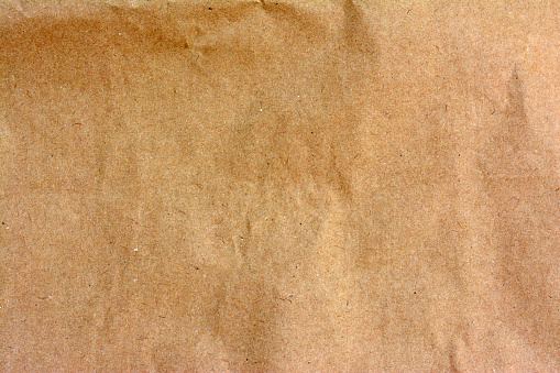 Closeup Of Brown Paper Bag Texture Background Stock Photo ...