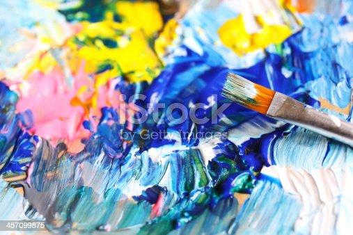 544318804 istock photo Closeup of brush 457099875