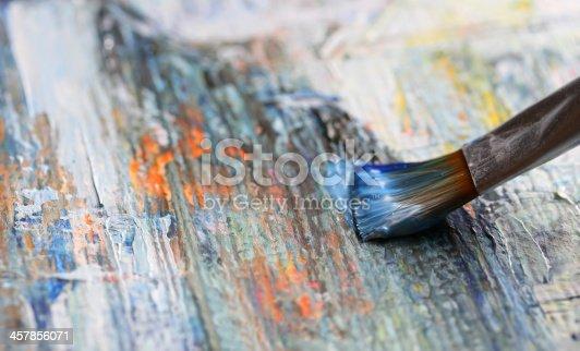 544318804 istock photo Closeup of brush 457856071