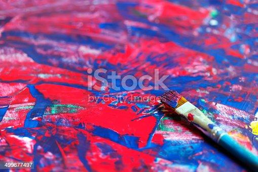 544318804 istock photo Closeup of brush 499677497