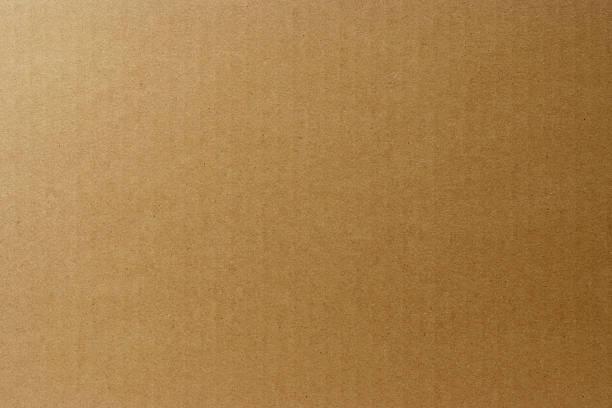 close-up of cardboard texture background - cardboard texture stockfoto's en -beelden