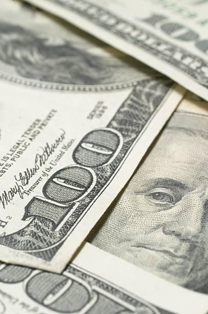 Closeup Of Cash stock photo