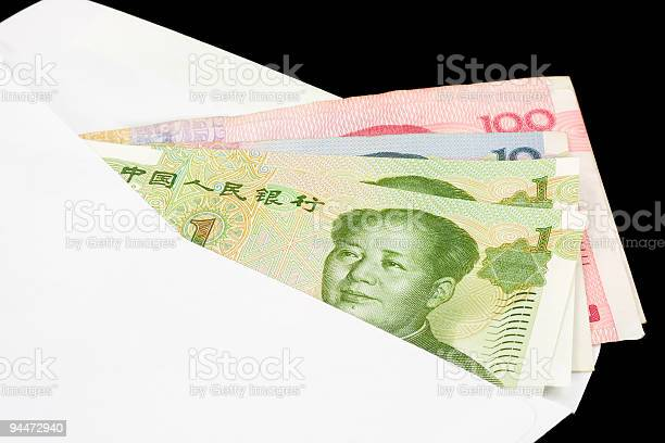 Closeup Of Chinese Currency Stock Photo - Download Image Now