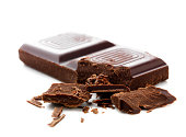 istock Close-up of chocolate pieces 145854458