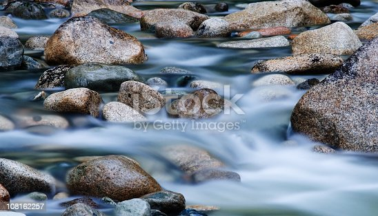 Water flow in Canada. Very long exposure (30 sec) makes a nice