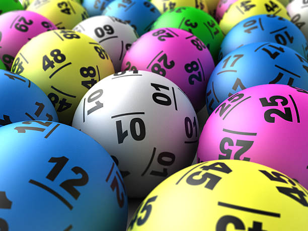 Close-up of colorful lottery balls Selection of lottery balls. lottery stock pictures, royalty-free photos & images