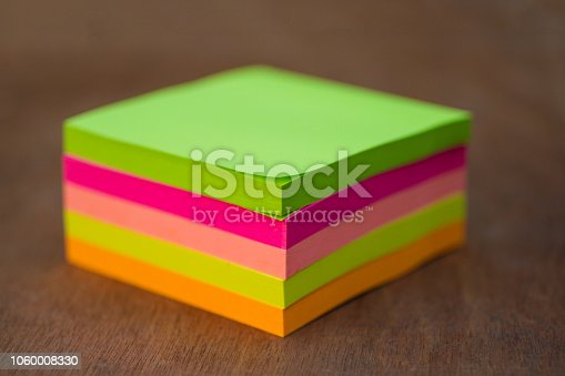 815359666 istock photo Close-up of colorful Sticky Paper Note, postit , note papers 1060008330