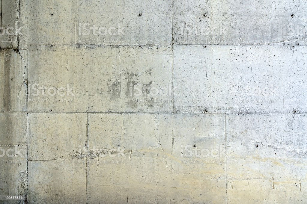 Close-up of concrete wall surface stock photo