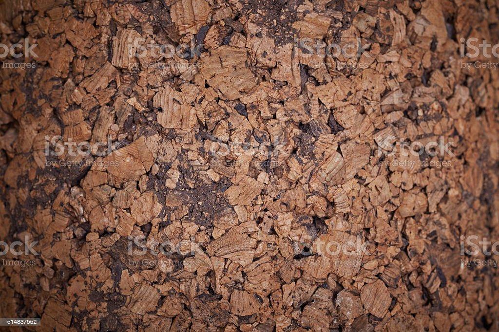 closeup of cork board patterncloseup of cork board pattern stock photo