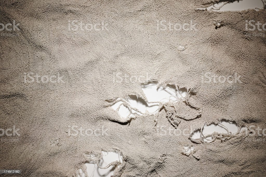 Close-up of dirty rag texture background stock photo