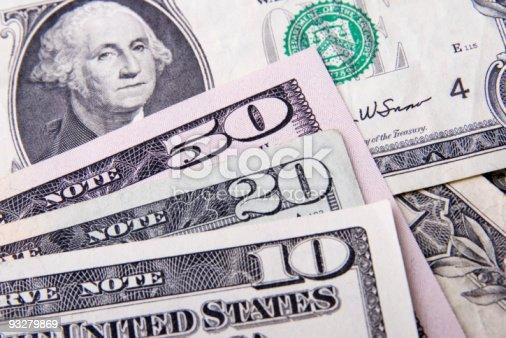 istock close-up of dollars 93279869