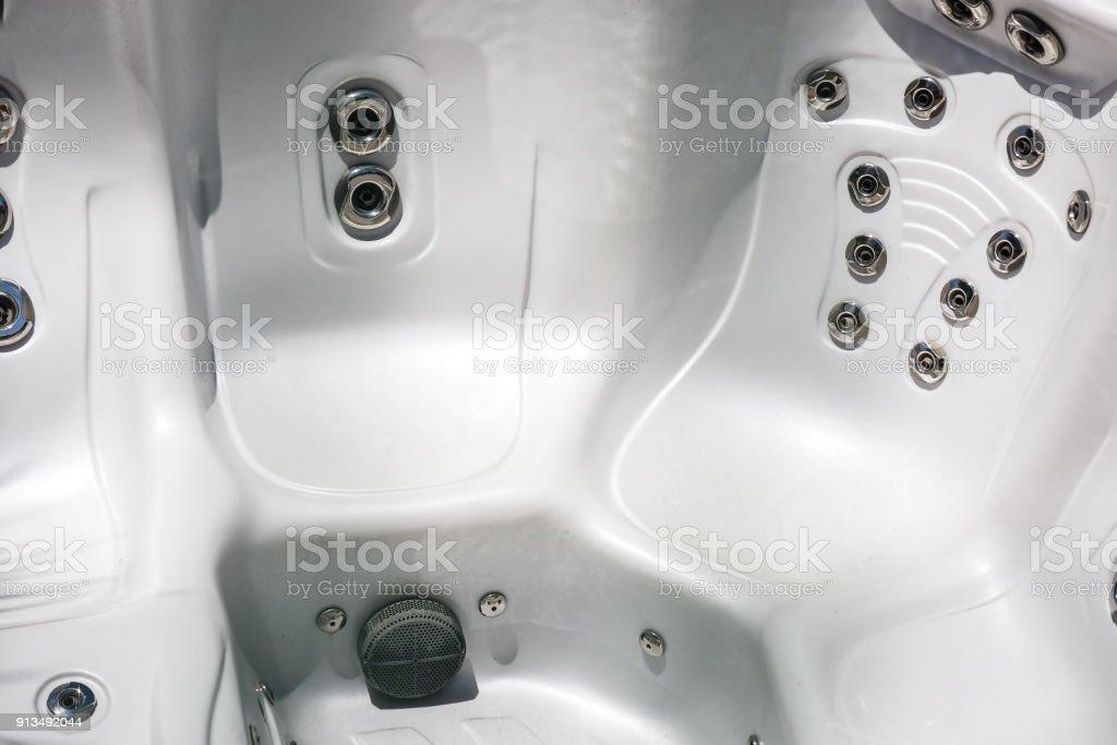 Closeup Of Empty Bath Tubs At Spa stock photo | iStock