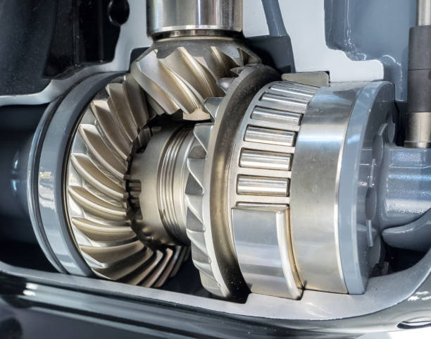 Closeup of engine gear Close up view of brand new engine gears coupling device stock pictures, royalty-free photos & images