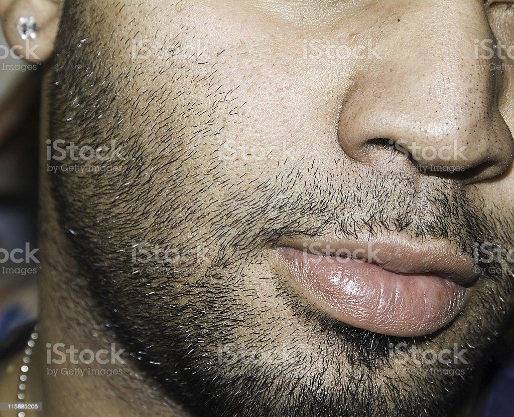 Facial male features model 14 Facial