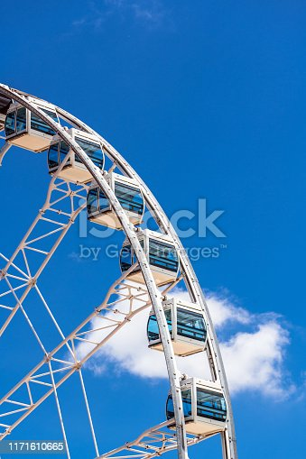 Hong Kong, Asia, Ferris Wheel, Architecture, Building Exterior