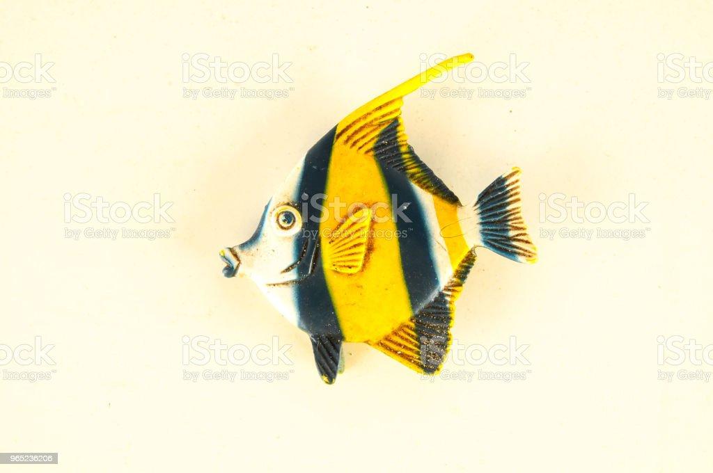 Close-up of fish plastic animal zbiór zdjęć royalty-free