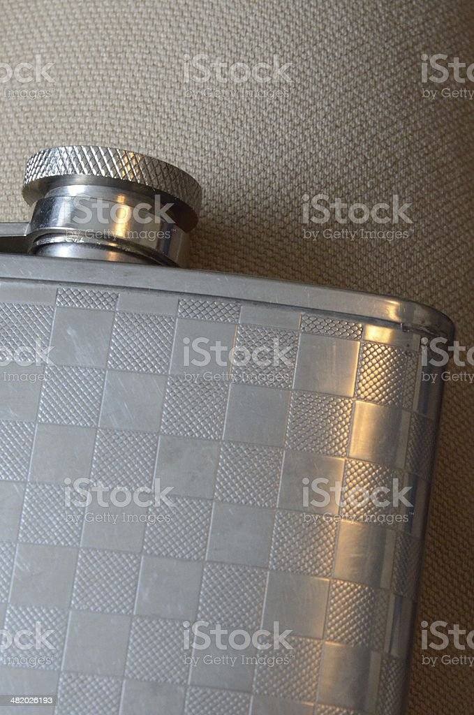 Close-up of flask royalty-free stock photo