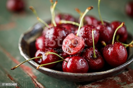 Close-up of fresh Cherry