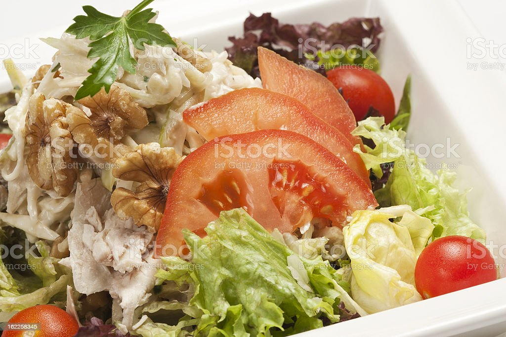 Close-up of fresh salad royalty-free stock photo