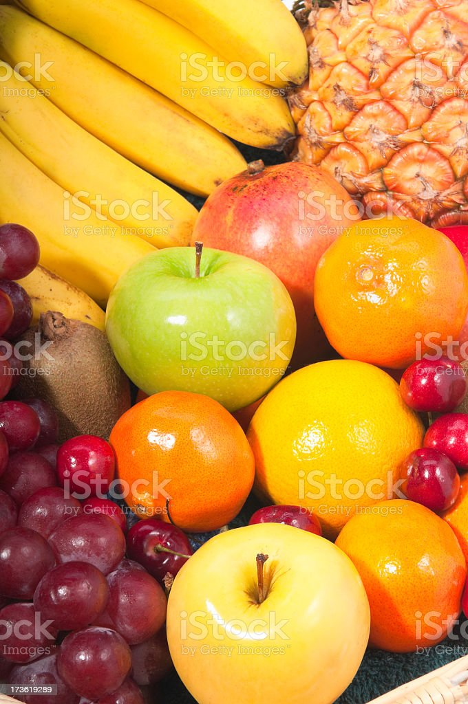 Closeup of Fruits royalty-free stock photo