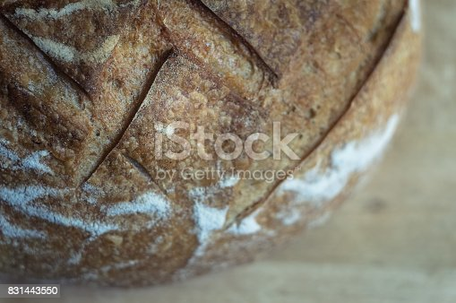 913749618istockphoto Close-up of garlic bread on wooden background 831443550