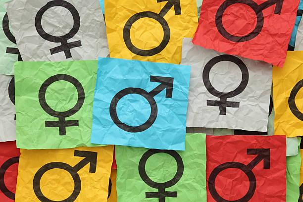 암수구분 기호들 - 성별 뉴스 사진 이미지