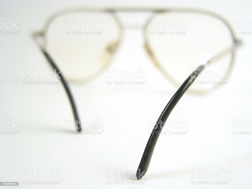 Close-up of glasses royalty-free stock photo