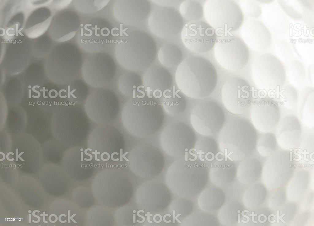 Closeup of golf ball stock photo