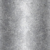 A close-up of grunge galvanized steel