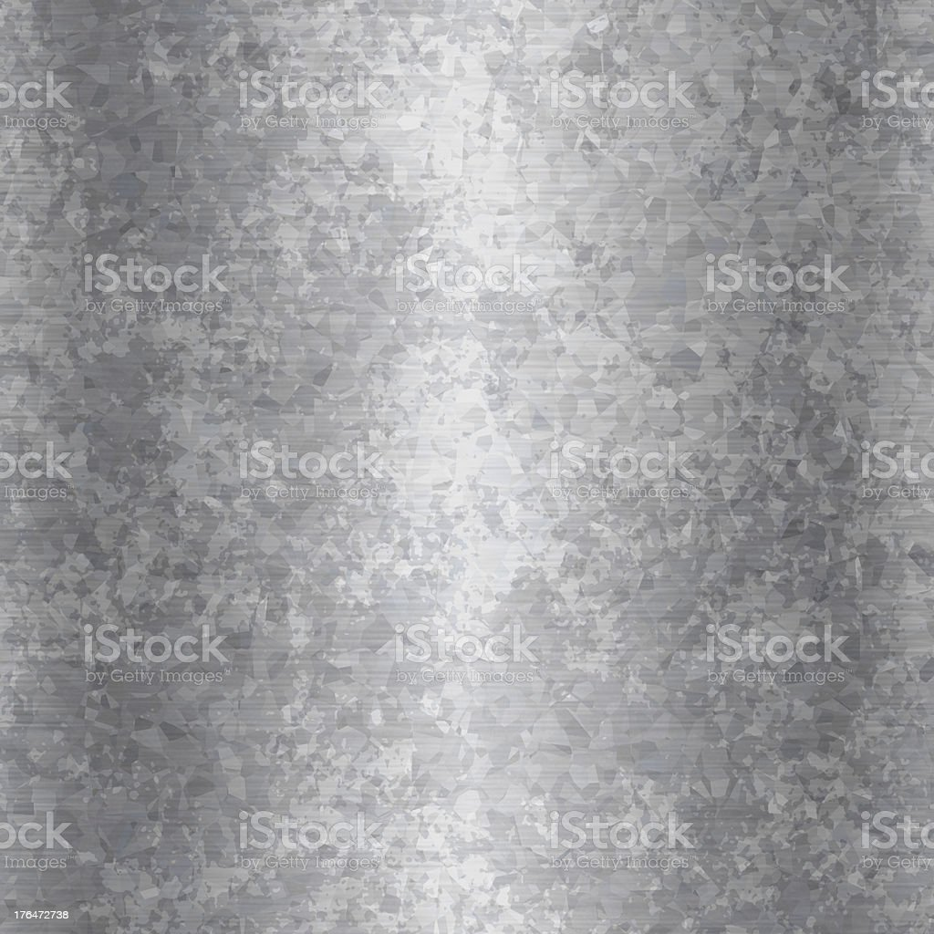 A close-up of grunge galvanized steel stock photo
