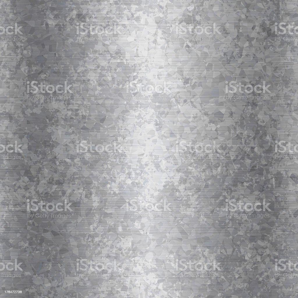 Grunge Placa metálica de acero galvanizado - foto de stock