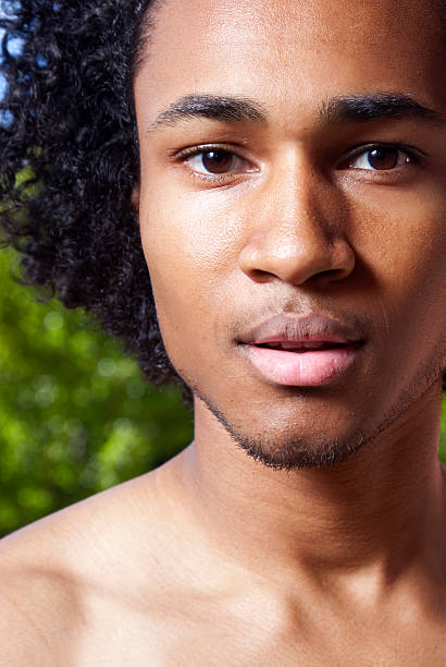 Royalty Free Handsome Naked Black Men Pictures, Images and