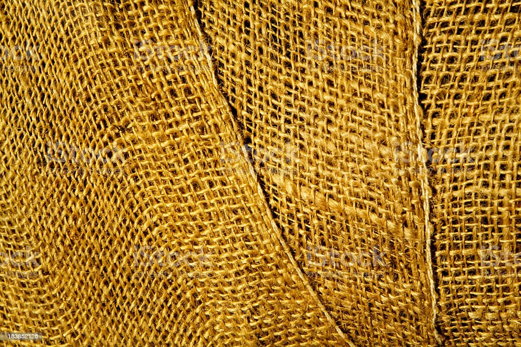 Close-up of hemp texture background royalty-free stock photo