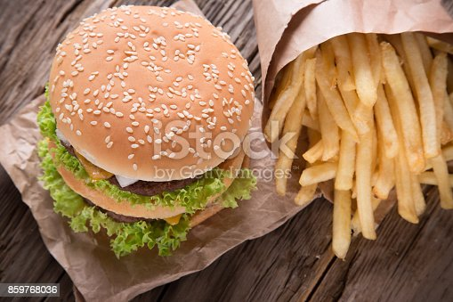 851159308 istock photo Close-up of home made burgers 859768036