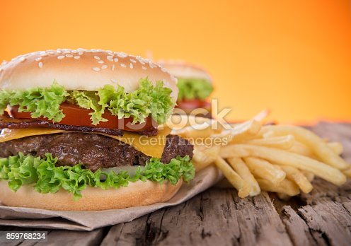 851159308 istock photo Close-up of home made burgers 859768234