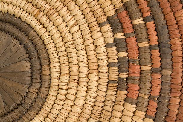 Nahaufnahme der indischen Korb – Foto