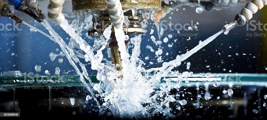 industrial Baumwolldrillich, High-speed - Lizenzfrei Automatisiert Stock-Foto