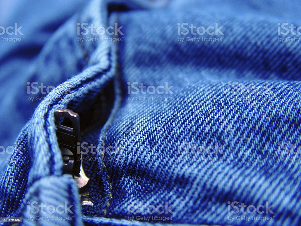Closeup of Jeans royalty-free stock photo