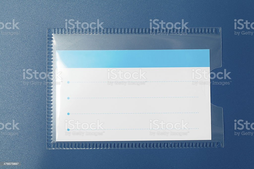 Close-up of Label royalty-free stock photo