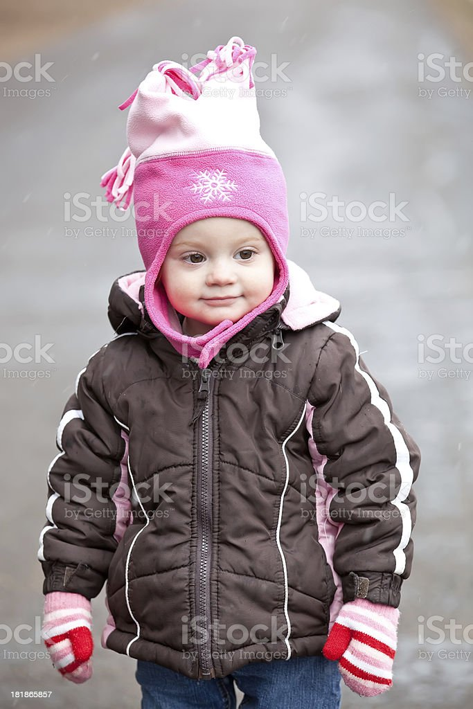 Closeup of Little Girl royalty-free stock photo