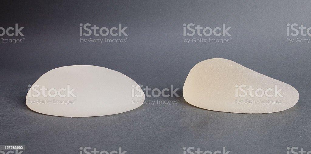 Los implantes de mama - foto de stock
