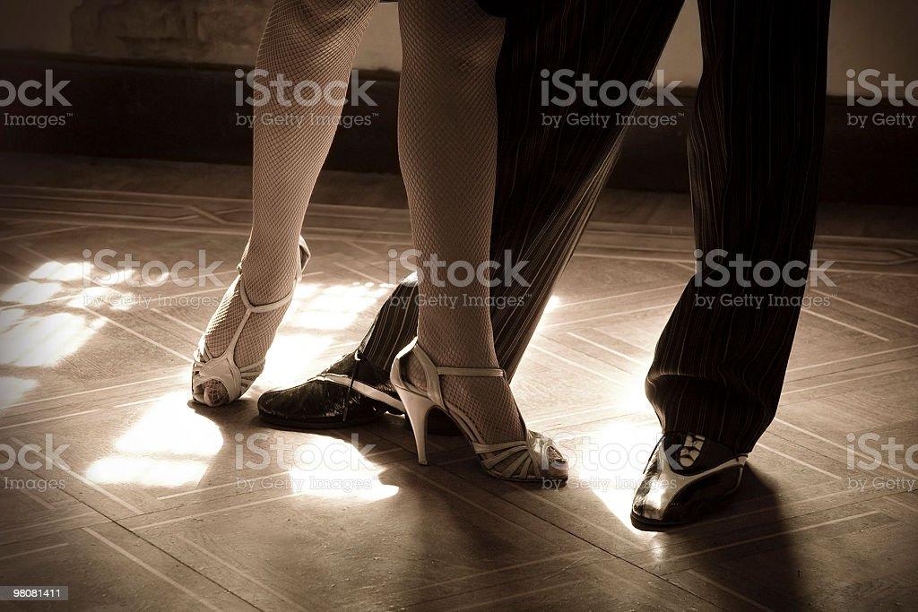 Tango passaggi foto stock royalty-free